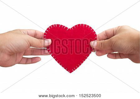 'Sweet Home' velvet sign, handmade, design, heart shape