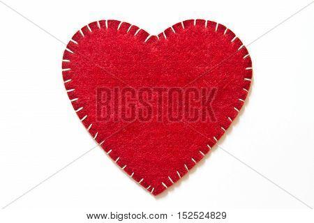 Heart sign velvet, heart shape, handmade, design