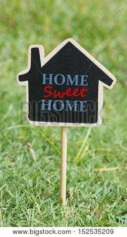 Home sweet home mini signage