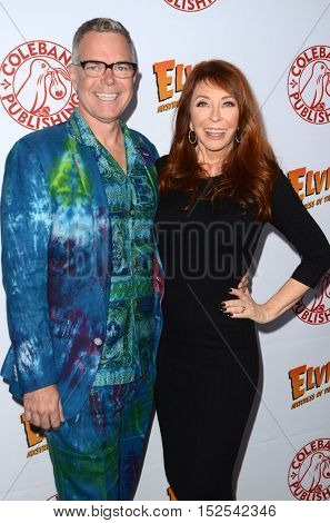 LOS ANGELES - OCT 17:  Charles Phoenix, Cassandra Peterson at the