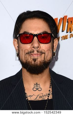 LOS ANGELES - OCT 17:  Dave Navarro at the