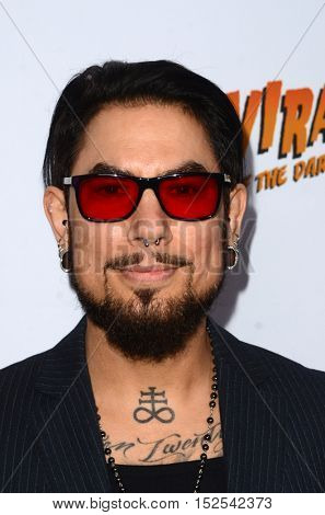 LOS ANGELES - OCT 17:  Dave Navarro at the