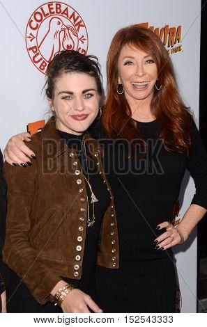 LOS ANGELES - OCT 17:  Frances Bean Cobain, Cassandra Peterson at the