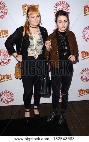 LOS ANGELES - OCT 17:  Chantal Claret Euringer, Frances Bean Cobain at the
