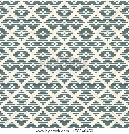 Seamless Background. Kogin Embroidery. Abstract.