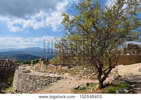 Archaeological Sites Of Mycenae And Tiryns, Greece