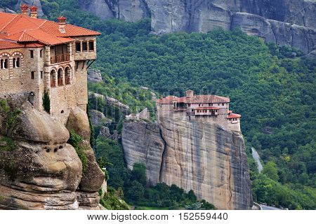 Meteora Monasteries. Greece