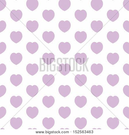 Seamless pattern of pastel hearts. Pastel seamless patterns. Gentle, simple, concise patterns, backgrounds, textures, wallpaper, posters, postcards, fabric. Seamless background. Pastel colors.