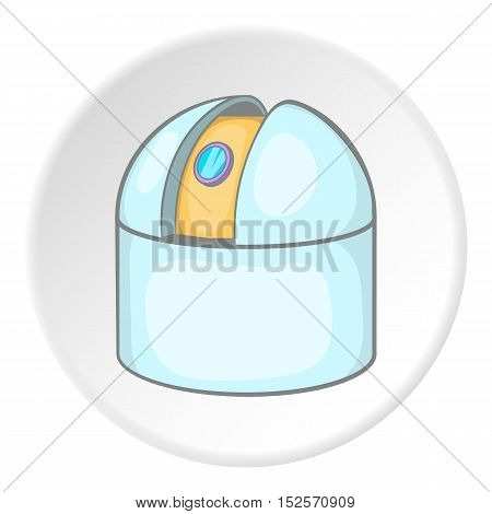 Observatory icon. Cartoon illustration of observatory vector icon for web