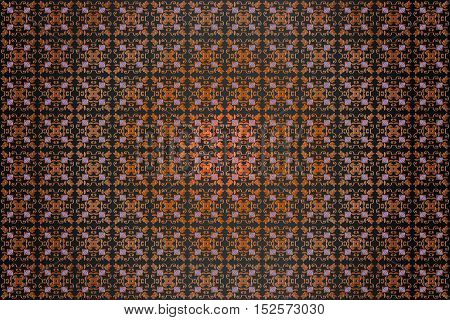 texture background abstract embossed symmetrical pattern Victorian style vector illustration