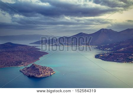 Spinalonga is an island where were isolated lepers, humans with the Hansen's desease. Here took place the story of Victoria 's Hislop novel