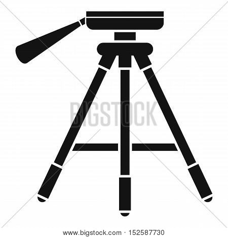 Tripod icon. Simple illustration of tripod vector icon for web