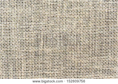 canvas background / Bright fabric textile material, natural linen as texture pattern background or backdrop.