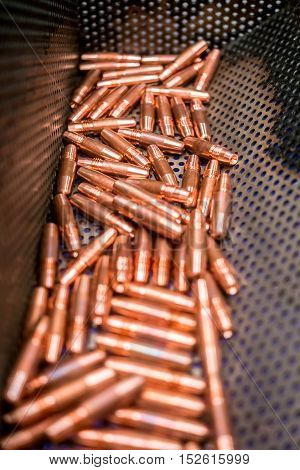 copper, cap tips  for automative, cars ,electrodes
