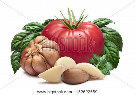 Tomato, Garlic, Basil, Paths