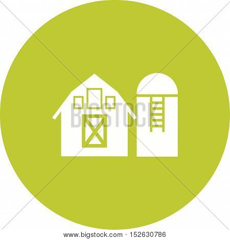 Silo, agriculture, grain icon vector image. Can also be used for farm. Suitable for web apps, mobile apps and print media.
