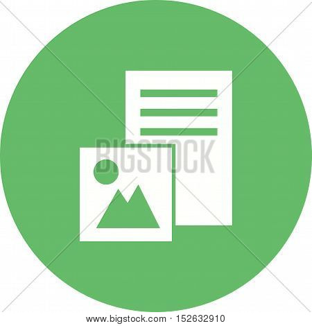 Image, web, picture icon vector image. Can also be used for web. Suitable for use on web apps, mobile apps and print media.