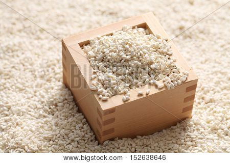Malted rice is often used in Japanese cuisine. used to making Miso or making Sake.