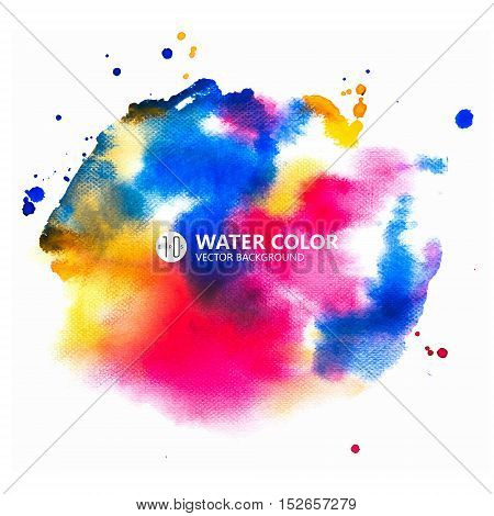 watercolor, background, rainbow, paint, color, water, vector, abstract, splash, colorful, design, paper, art, painting, illustration, blue, red, template, texture, grunge, textured, drawn, orange, colors, watercolour, bright, wallpaper, banner, ink, hand,