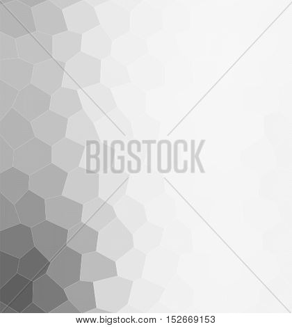 Polygonal white gradient polygon shape modern background
