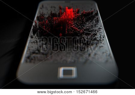 Smart Phone Emanating Infection