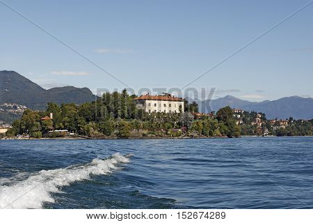 Isola Madre is one of the Borromean Islands and is the largest island in Lake Maggiore. The entire island is covered by a historical building ensamble and a park the Palazzo Madre.