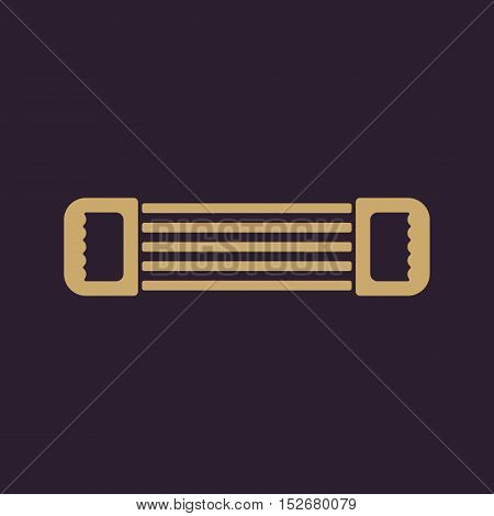 The expander icon. Expander symbol. Flat Vector illustration