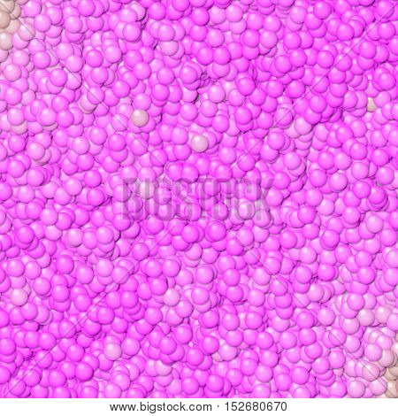 Bright pink bubble bumpy hundred little balls image texture background