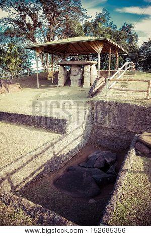 San Augustin Idols, Colombia, South America, Inka Civilization Idols