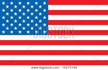 illustrierte-USA-Karte ideal als Schreibtisch oder Hintergrund