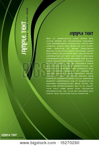 Abstract illustrated background image with great copy space