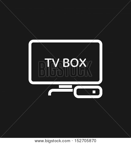Tv Box / Iptv Icon.