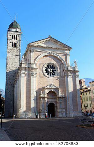 Santa Maria Maggiore Church In Trento, Italy