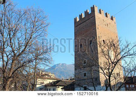 Vanga Tower In Trento, Italy