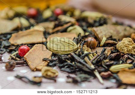 Flavored Tea Macro Placer, Refinement Custard From Disease.