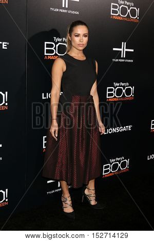 LOS ANGELES - OCT 17:  Zulay Henao at the