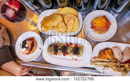 Tapas, Barcelone, Spain, Food and Drink, Restaurant