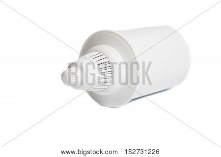 Water Filter cartridge isolated on white background