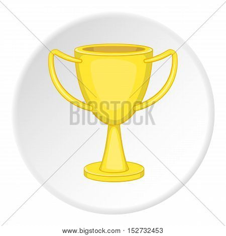 Cup championship icon. Cartoon illustration of cup championship vector icon for web