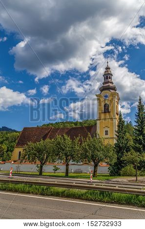 Saint Jakob church (Jakobikirche) in Leoben Austria