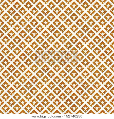 Orange and White Diagonal Squares Tiles Pattern Repeat Background that is seamless and repeats