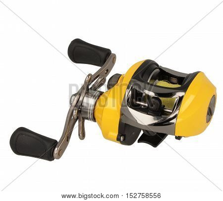 Yellow Multiplier Fishing Reel