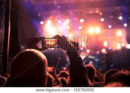 Making A Concert Memories