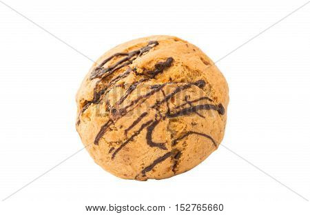 cookies christmas dessert isolated on white background