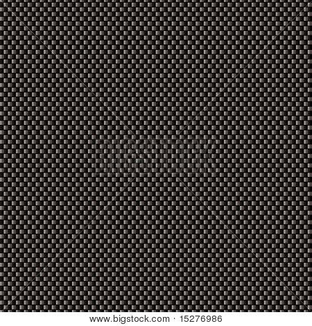 Siyah karbon örgü sorunsuz döşeme arka planı ile arka plan