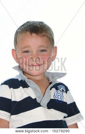 Young boy, aged three.