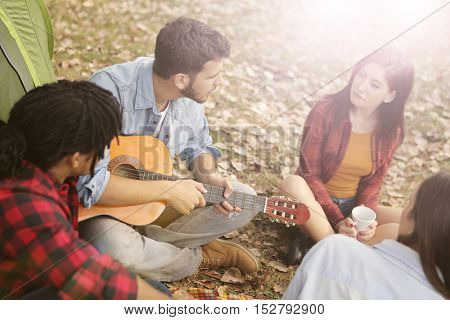 Music in the campground