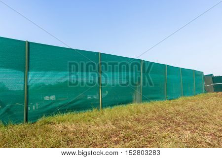 Construction Boundary Blinds