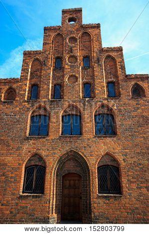 old church in town of Naestved, Denmark