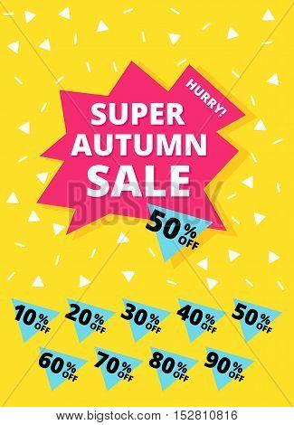 Super Autumn Sale Banner